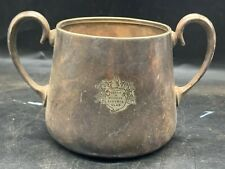 More details for vintage / antique leeds and county liberal club silver plate sugar bowl trophy