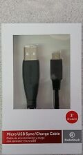Micro USB 2.0 high-speed Charge and Sync Cable for Android Cellular phones and t