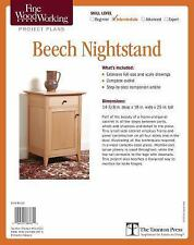 Fine Woodworking's Beech Nightstand Plan: By Rousseau, Timothy