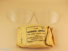 "WWII AN6530 Pilot Warbird ""Original"" Clear Google Glass Lenses"