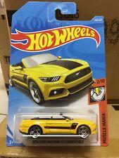 Hot wheels Hotwheels 2015 Ford Mustang GT Convertible