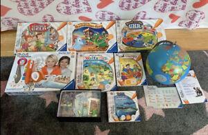 Tiptoi Starter-Set, Globus, Spiele, Bücher und Adventskalender