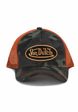 Von Dutch Trucker Cap vdht Camo Cap Mimetico Camo ORANGE