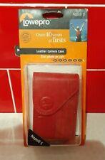 Lowepro Napoli 5 leather compact camera case