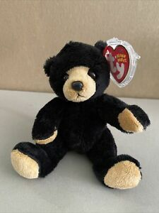 Ty Beanie Baby - SNACKS the Black Bear (5 Inch) MINT with MINT TAGS