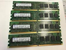 4GB PC5300 DDR2 4x1GB PC2-53000U 667MHz Non Ecc 240 pin Desktop Memory Ram