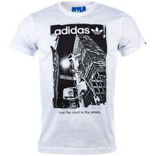 adidas Herren-T-Shirts aus Baumwolle mit S