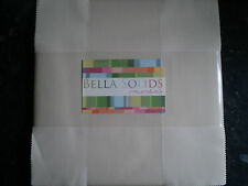MODA Charm Pack - Bella Solids - Fawn / Teastain (9900-12)