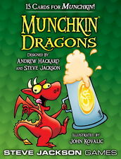 Munchkin Expansion Dragons Booster Pack Steve Jackson Games New