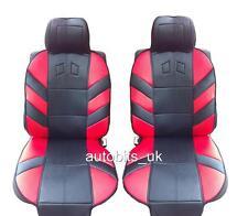 Rojo confort Asiento Delantero Cubre Amortiguador Para Iveco Daily Seat Ibiza Leon Toledo