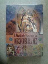 """11416 // COFFRET 4 DVD HISTOIRES DE LA BIBLE DUREE 200"""" NEUF SOUS BLISTER"""