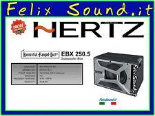 "HERTZ EBX 250.5 Subwoofer  250 mm 700w 25cm 10"" Reflex   NEW MODELLO + OMAGGIO !"
