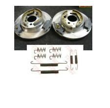 VOLVO S60 S80 REAR BRAKE DISCS PADS SHOES & FITTING KIT