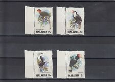 TIMBRE STAMP  4 MALAYSIE Y&T#280-83 OISEAU BIRD TOUCAN NEUF**/MNH-MINT 1983 ~B14