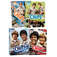 Chips: Classic Larry Wilcox TV Series Complete Seasons 1 2 3 4 Box/DVD Set(s)