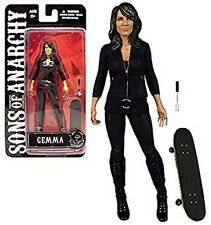 Sons of Anarchy Gemma Action Figure with Skateboard by Mezco NIB New in Package