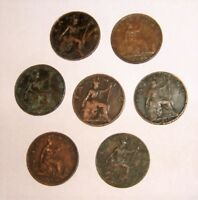 Great Britain/UK 1860-1901 Queen Victoria Bronze Farthings - Select a date