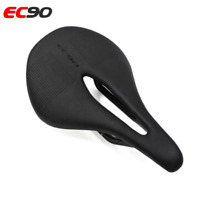 New  EC90 Carbon+Leather Bicycle Seat Saddle MTB Bike Saddle Road Bicycle Saddle