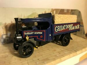 Great Dorset Steam Fair Models of Yesteryear Ltd Edition Foden BLUE Steam Wagon