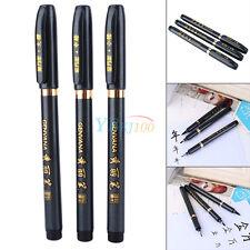 3tlg. Set chinesische japanische Kalligraphie Shodo Stifte / Calligraphy Ink Pen