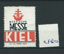 wbc. - CINDERELLA/POSTER - CF50 - EUROPE - NORDISCHE MESSE - KIEL - 1925