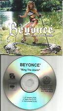 Destinys Child BEYONCE Ring the Alarm 3TRX INSTRUMENTAL &EDIT PROMO DJ CD single