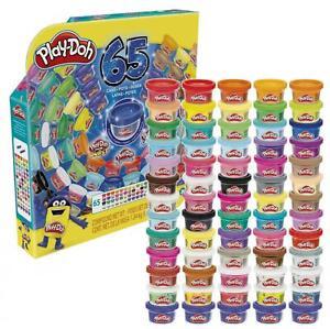16,30 Euro pro kg Play-Doh Knete 65 Jahre Vielfalt Pack Geburtstags Set 65 Dosen