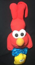 Musical Pull Down ELMO Seasame Street Song Pull Toy Shooting Star TYCO Plush