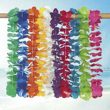 100 assorted Leis 10 colors LUAU BEACH TROPICAL PARTY FAVOR DECORATION