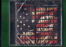 JAMES BROWN - LIVING IN AMERICA THE  BEST OF CD NUOVO SIGILLATO