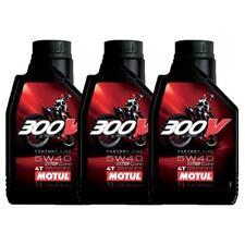 3 LITRO 3 LT OLIO MOTORE MOTUL 300V 300V 5W40 5/40 100% SINTETICO MOTO
