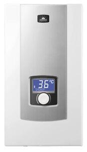 Vollelektronischer Durchlauferhitzer Kospel PPE2 18/21/24 kW LCD-Display