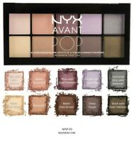 NYX Avant Pop Eyeshadow Palette NOUVEAU CHIC APSP03 NEW eye shadow