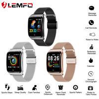 Lemfo F9 Smart Watch Etanche Podomètre blood pressure Pour Huawei iPhone Samsung