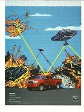2007 Toyota Tacoma Truck Print Ad Advertisement