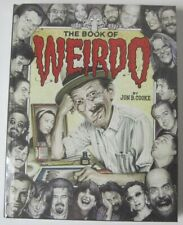 BOOK OF WEIRDO HC SIGNED BOOKPLATE JON B. COOKE DREW FRIEDMAN #/100 R. CRUMB