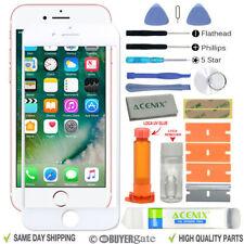 Blanco Iphone 8 Pantalla Delantera Lente de Cristal Kit de Reemplazo Loca Glue
