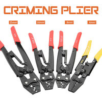 0.5-25mm² Ratchet Terminal Crimping Pliers Cable Wire Tool Cutter Crimper