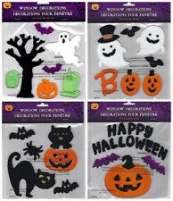 Halloween Gel Window Cling Stickers 54 Count ~ Set of 4