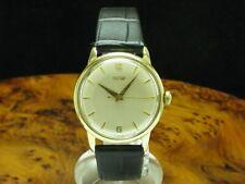 Tissot 14kt 585 Gold Handaufzug Herrenuhr / Kaliber 27B-21