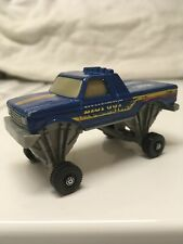 Hot Wheels Bigfoot Ford 1991 Blue Made in Malaysia