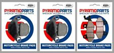 Front & Rear Brake Pads for Aeon Crossland RX 350 2011