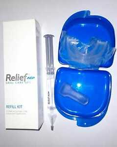 PHILIPS TEETH WHITENING BLEACH RELIEF GELS FOR TOOTH SENSITIVITY WITH/WOUT TRAYS