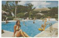 Caribbean Resorts, Barbados, Bahamas, Puerto Rico Lot Three Vintage Postcards