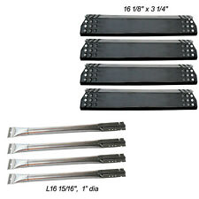 Replacement 4-pack Burner & Heat Plate for Kitchen Aid 720-0733A gas Grills