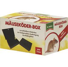 DR. STÄHLER Ratzia Mäuseköder-Box, 2 Stück