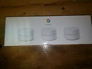 Google Wifi - Whole Home Dual-Band Mesh Wi-Fi System - 3 Pack