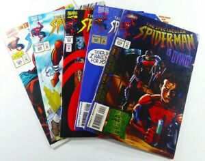 Marvel SPECTACULAR SPIDER-MAN #219 220 223 224 226 GD/VG to VF LOT Ships FREE!