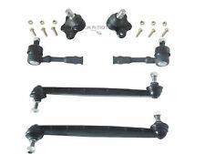 VAUXHALL ZAFIRA MK1 98-04 FRONT 2 BALL JOINTS +2 LINKS + 2 OUTER TRACK ROD ENDS