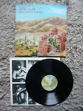 Little Feat Time Loves A Hero Vinyl UK 1977 WB Burbank Label LP A1/B2 Matrix EXC